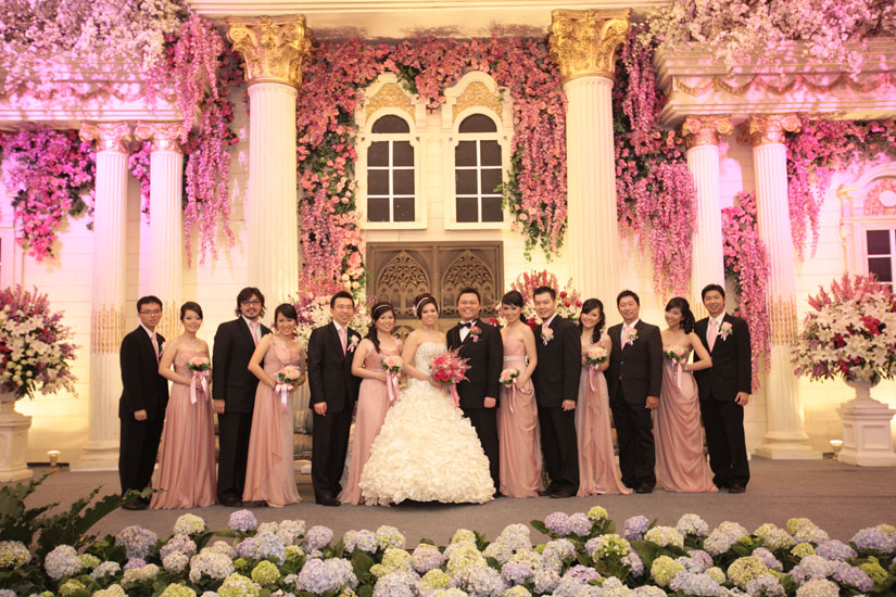 Big enterprise happy wedding for hendra and cindy may your love always grow romantically towards each other junglespirit Image collections